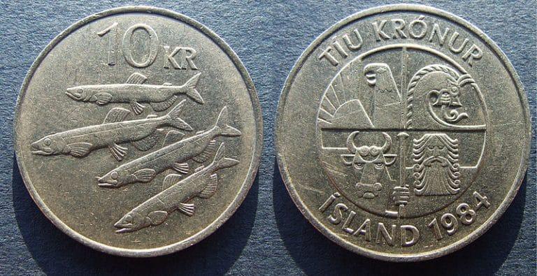 Islandsk 10 króna