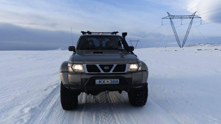 Kørsel i egen bil på Island